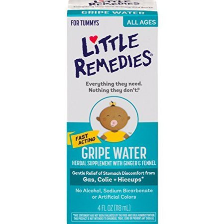 Little Remedies Gripe Water 4 oz ( Pack of 3)