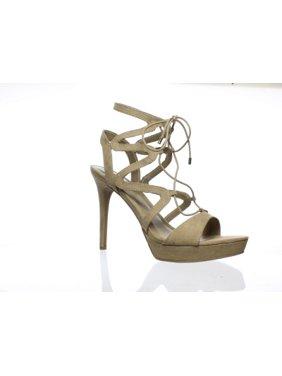 3c23201edb0 Product Image New GUESS Womens Gwaurela3 Tan Ankle Strap Heels Size 9.5