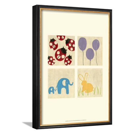 Best Friends Forever II Framed Art Print Wall Art  By Chariklia Zarris - (Best Friends Framed Print)