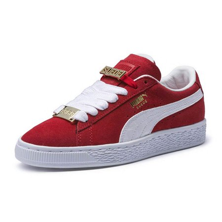 Puma 365129-02: Little Kid's Suede Classic Red/White Fabulous Sneakers