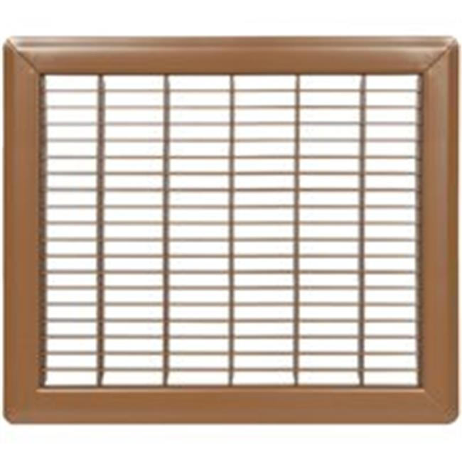 RG1184 Brown Return Air Floor Grill 8 x 10 In.