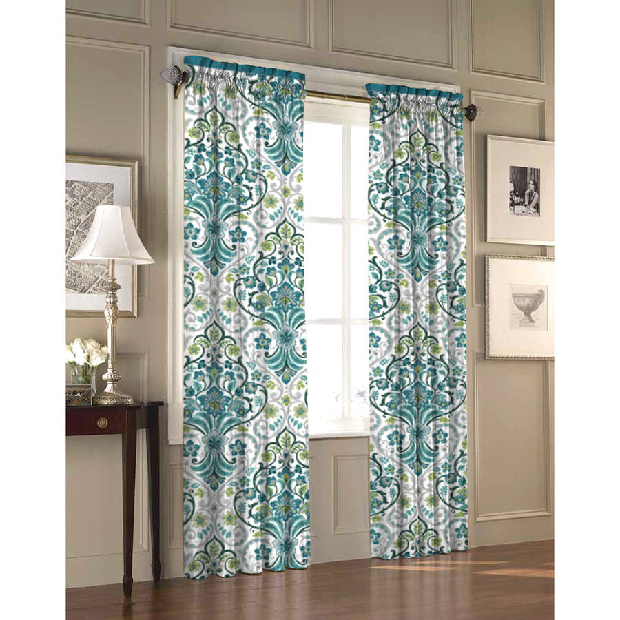 Stylenest Willa Curtain Panel, Set of 2 by Idea Nuova, Inc.
