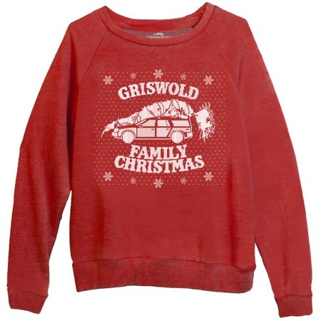 Ripple Junction National Lampoon's Christmas Vacation Adult Unisex Faux Knit Griswold Vaction Lightweight Sweater ()