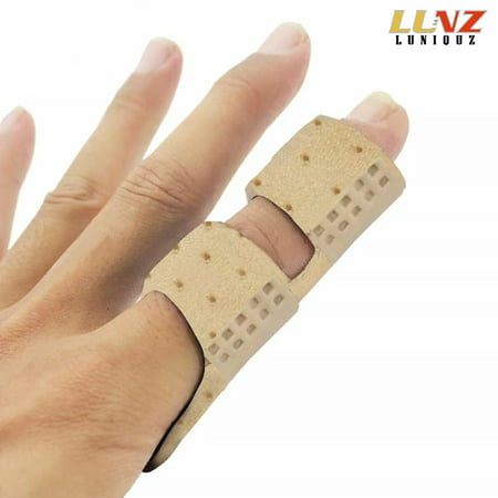 Finger Brace Splint with Rigid Support to Immobilize Finger Joint & Relieve Pain for Trigger