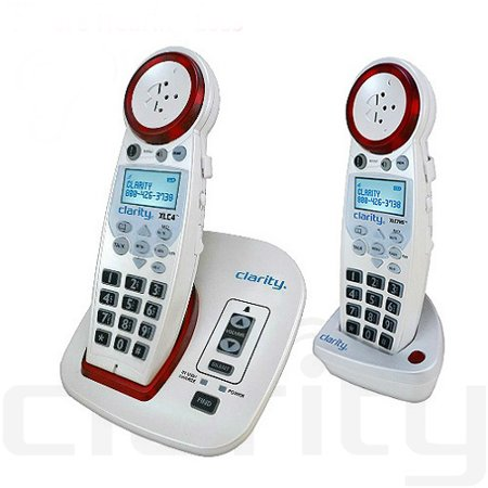 Dect 6.0 Talking Caller Id - Clarity XLC4 and (1) XLC7HS DECT 6.0 Extra Loud Big Button Speakerphone with Talking Caller ID