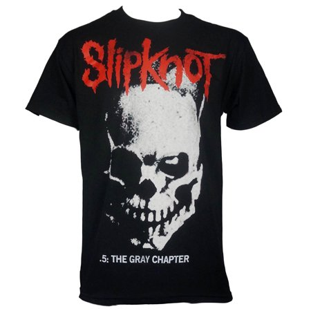 slipknot mens skull and tribal gray chapter t-shirt](Slipknot Suits)