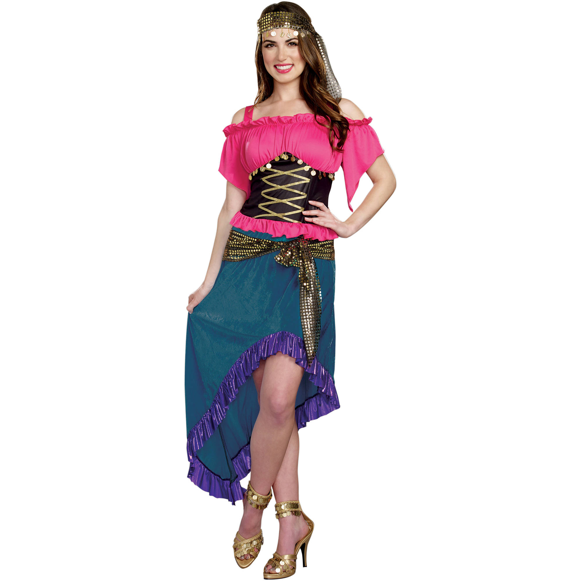Bohemian Dream Adult Women's Halloween Costume