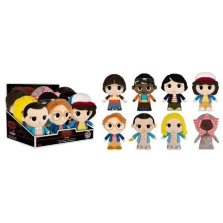 FUNKO SUPER CUTE PLUSH: Stranger Things S2 9Pc Blindbox (One FigurePer Purchase) (Thing 1 And Thing 2 Characters)