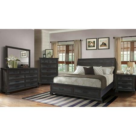 Best Master Furniture Kate 5 Pcs Bedroom Set, Cal.