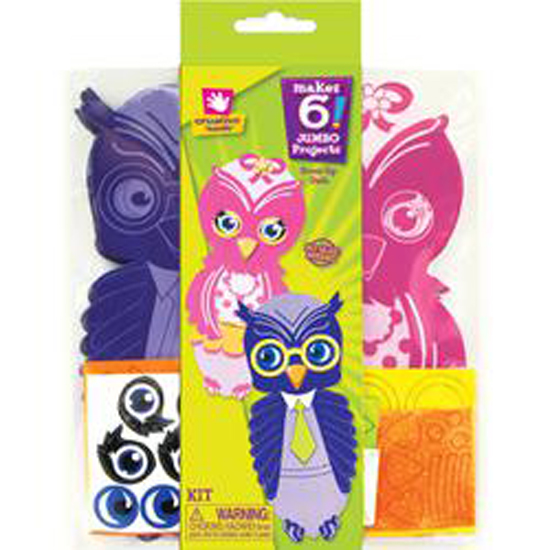 Jumbo Owl - Foam Dress Up Kit - Makes 6