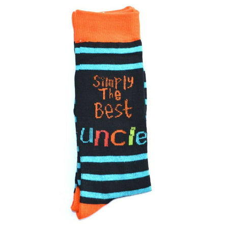 Simply The Best Uncle Socks  Fathers Day Gifts  Christmas Gift