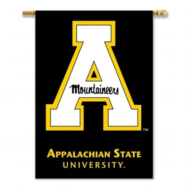 BSI PRODUCTS 96276 2-Sided 28 inch X 40 inch Banner with  Pole Sleeve - Appalachian State