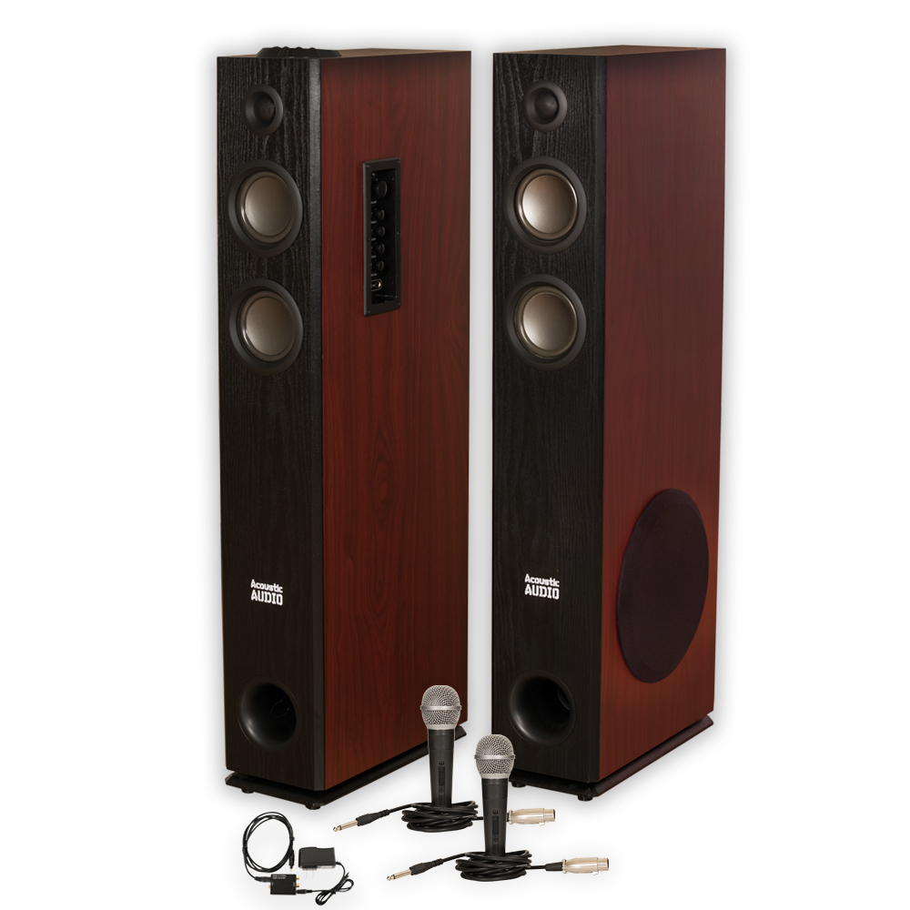 Acoustic Audio TSi600 Bluetooth Powered Floorstanding ...