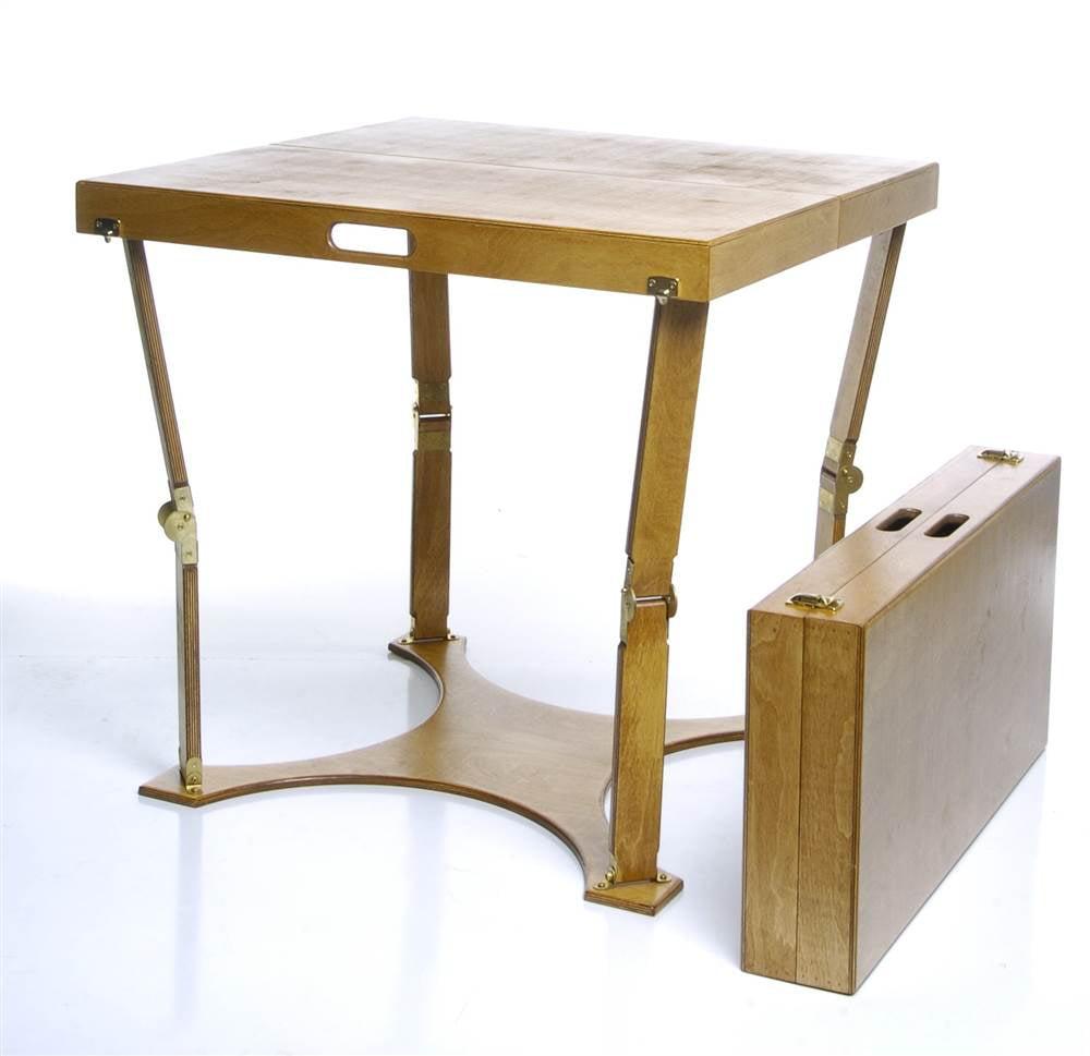 Folding Dining Table (Golden Oak)