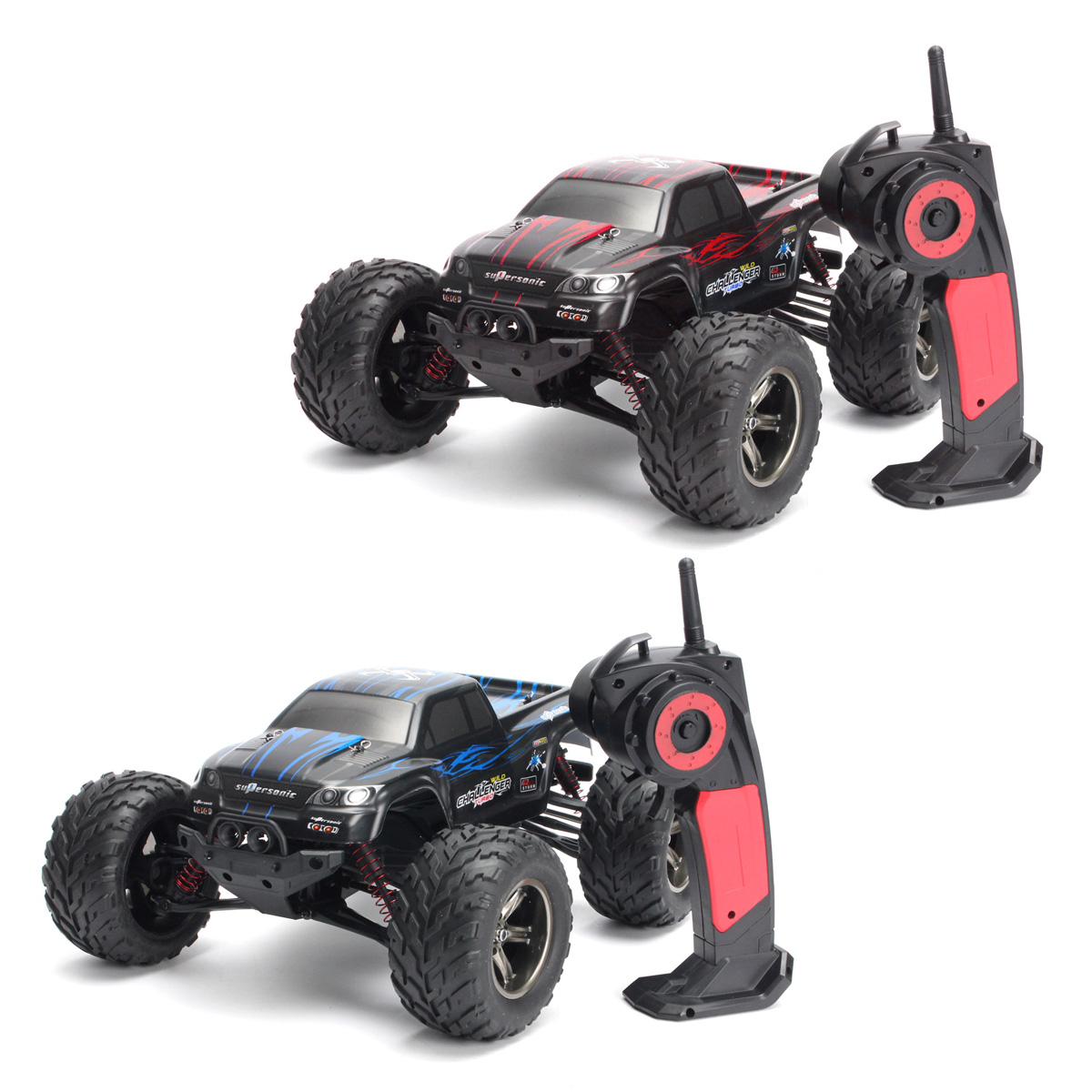 Blitzwolf 2.4Ghz 1:12 2WD 35 RC Cars Rock Off-Road + MPH ...