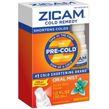 Cold & Flu: Zicam Cold Remedy Oral Mist