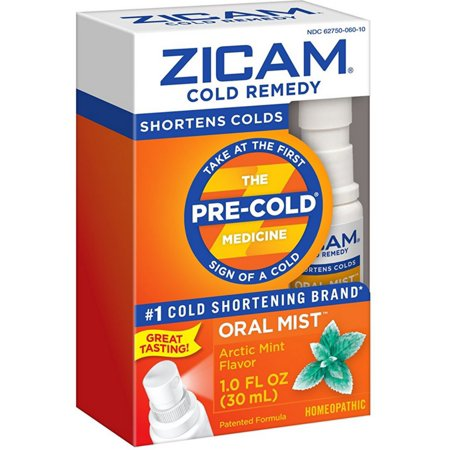2 Pack - Zicam Cold Remedy Oral Mist, Arctic Mint 1
