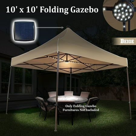 Sunrise 10 X10 Outdoor Patio Instant Pop Up Canopy Tent