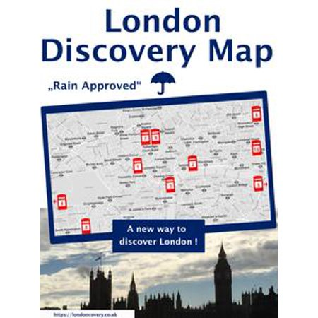 London Discovery Map - a different London guide - eBook
