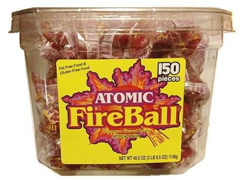 Atomic Fireball Individually Wrapped Cinnamon