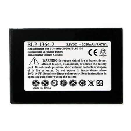 HTC DROID DNA Cell Phone Battery (Li-Pol 3.8V 2020 mAh) Internal Battery - Replacement For HTC 35H00196-01M Cellphone Battery (Htc Dna Speaker Replacement)