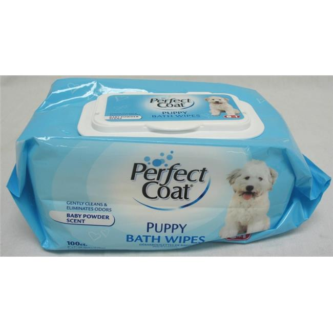 United Pet Group Eio - Perfect Coat Gentle Bath Wipes-puppy 80 Pack - J7140