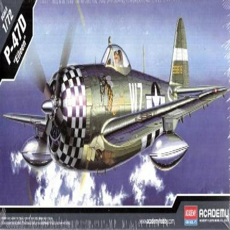 (Academy Plastics 1/72 Republic P-47D Thunderbolt Eileen ACY12474)