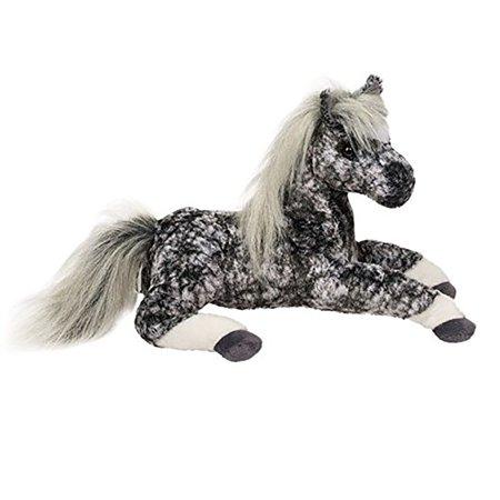 remy gray dapple horse 13 long by douglas cuddle toys walmart com