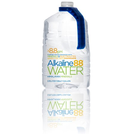 Image of Alkaline88 Purified Water, Enhanced with Electrolytes and Minerals - 1-Gallon (4 Count)