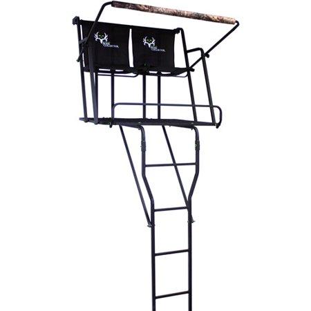 Bone Collector Deluxe Two Man Ladderstand Walmart Com