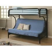 """Fall Creek """"C"""" Style Twin/Full Futon Bunk Bed"""