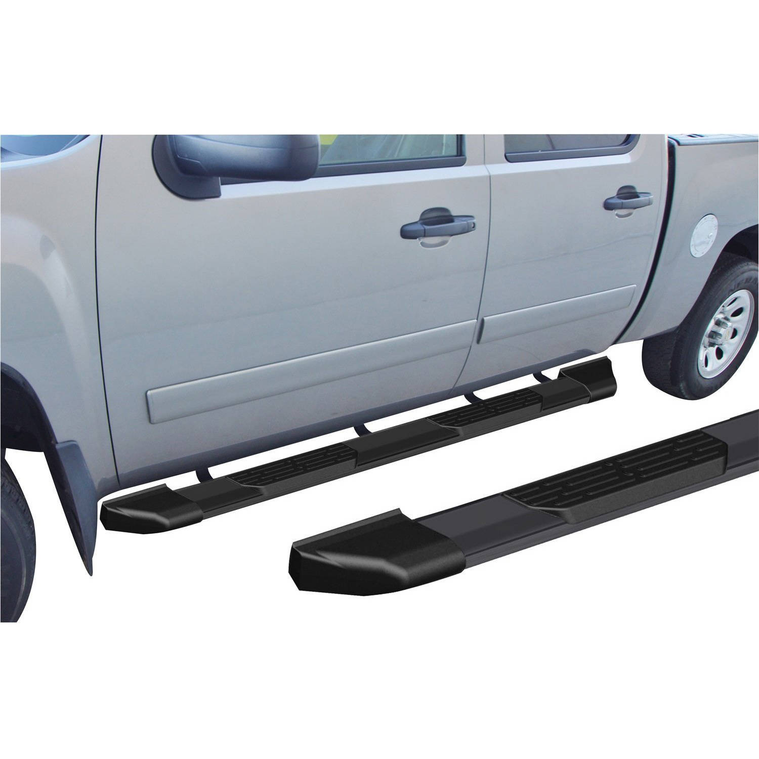 "Rampage 16170 Xtremeline 70"" Black Running Board, Pair"