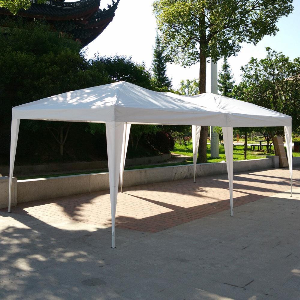 Ktaxon 10x20ft EZ Pop UP Wedding Party Tent Folding Gazebo Canopy Heavy Duty/ Carry Case
