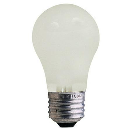 feitelectric 25w frosted 130 volt incandescent light bulb pack of 4. Black Bedroom Furniture Sets. Home Design Ideas