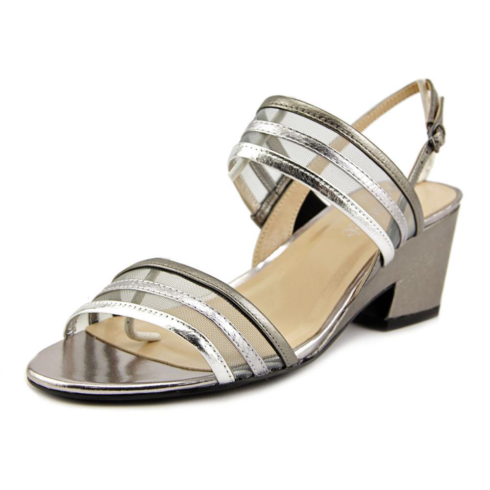 J. Renee Erma Open-Toe Synthetic Slingback Heel by J. Renee