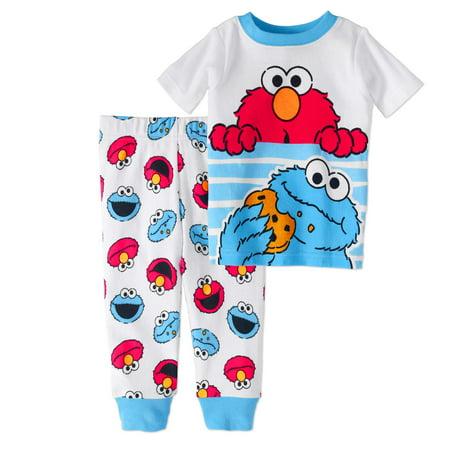 6a39af5a0 Sesame Street - Newborn Baby Boy Cookie Monster   Elmo Cotton Tight ...