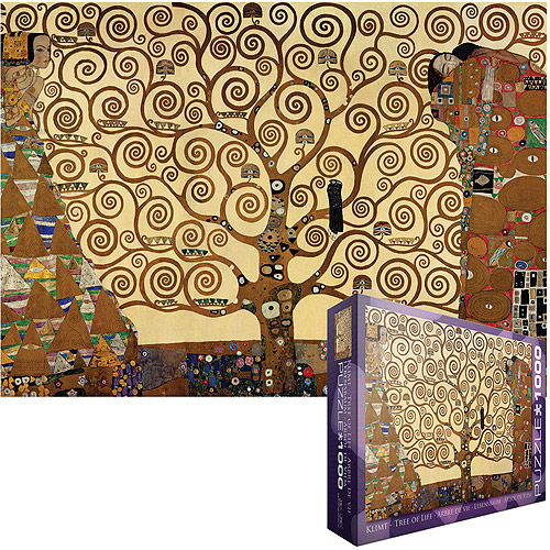 Klimt Tree of Life Jigsaw Puzzle, 1000 Pieces