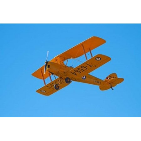 De Havilland DH 82A Tiger Moth Biplane Warbirds over Wanaka Airshow New Zealand Canvas Art - David Wall  DanitaDelimont (26 x 18)