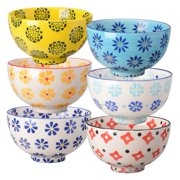 6-Pc 5.25 in. Assorted Bowl Set