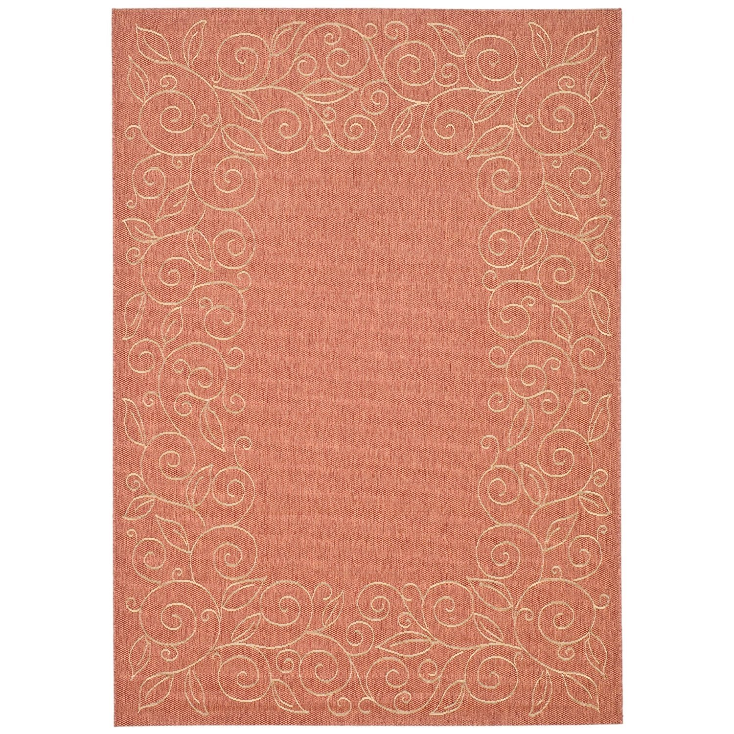 Safavieh Courtyard Collection Cy5139a Terracotta And Beige Indoor