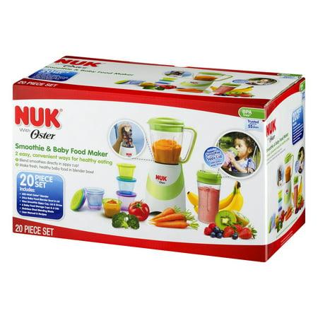 Nuk Baby Food Maker, 20-Piece Set