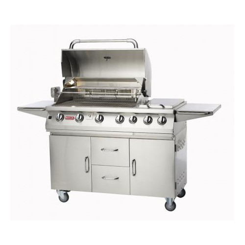 Bull Outdoor Products Burner Premium 4-Burner Propane Gas Grill with Smoker by Bull Outdoor Products