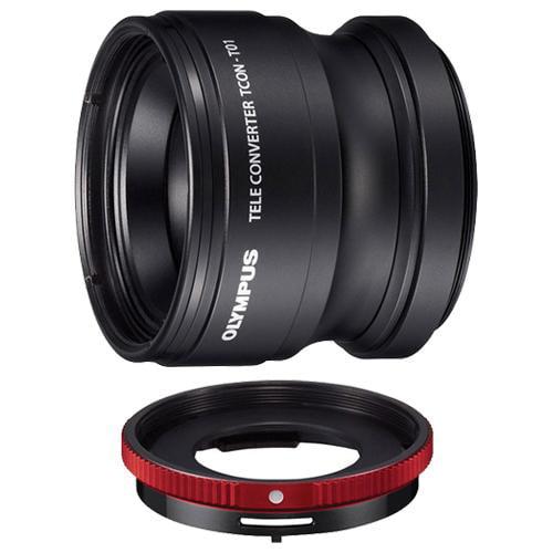 Olympus TCON-T01 Tele Converter Lens & CLA-T01 Adapter ...