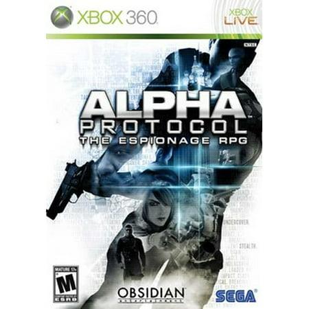 Alpha Protocol, Sega, XBOX 360, 010086680287 (Captain America Super Soldier Xbox 360 Part 1)