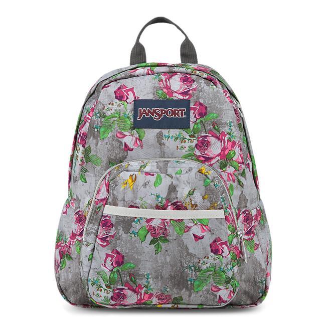 JANSPORT Mini Half Pint Backpack - Multi Concrete Floral ...