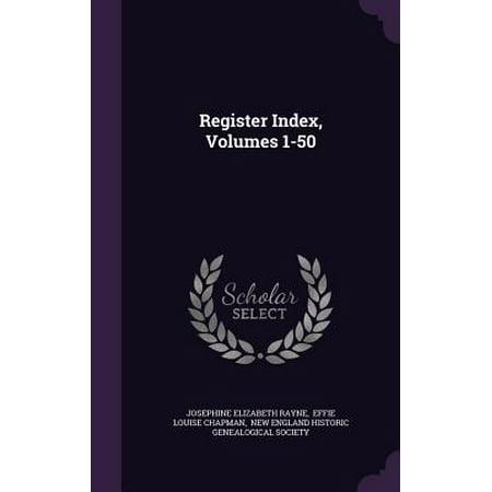 Register Index, Volumes 1-50