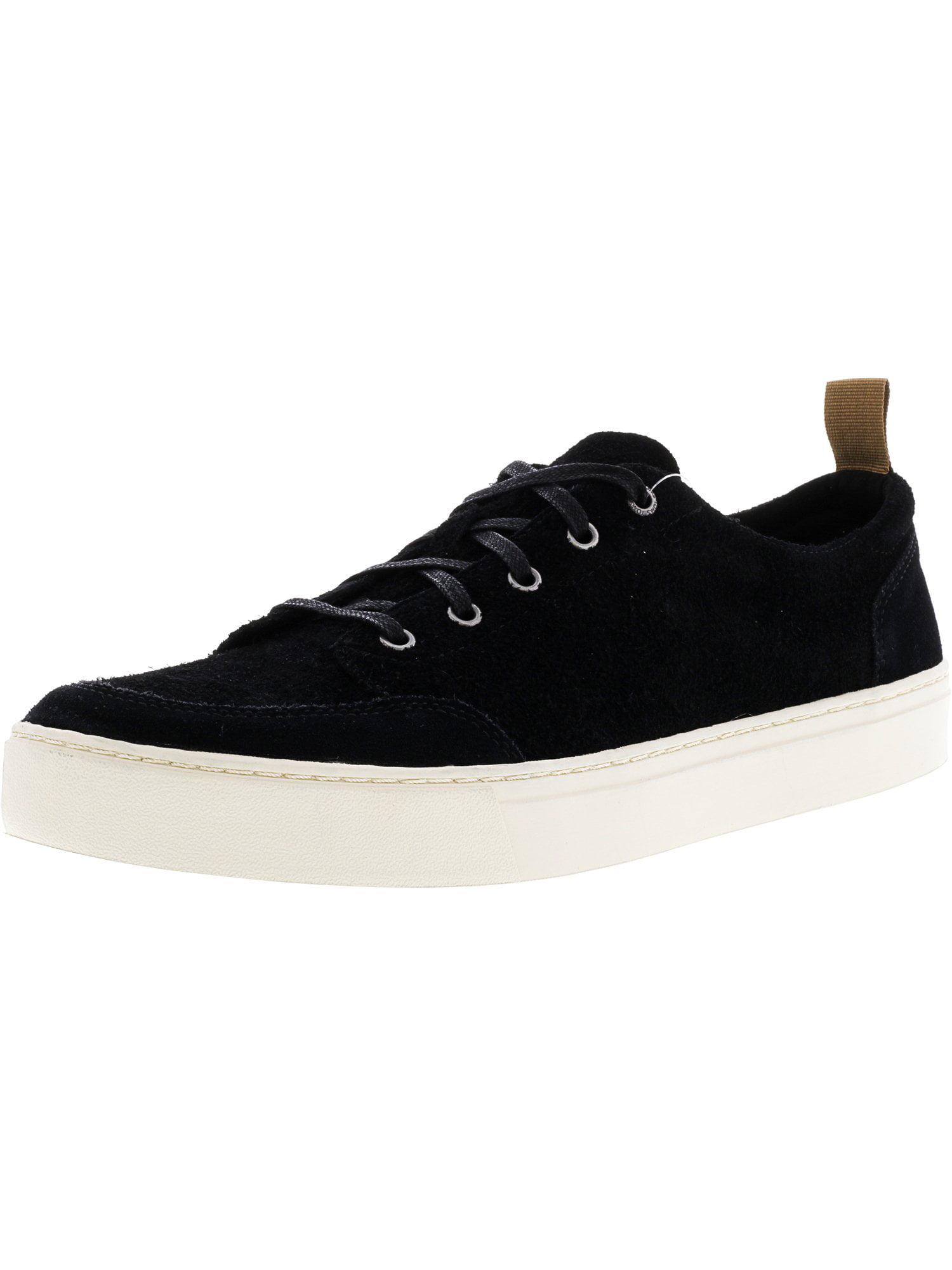 742ce019bf8 Toms Men s Landen Shaggy Suede Black Low Top Fashion Sneaker - 9.5M