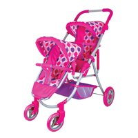 Lissi Twin Baby Doll Stroller