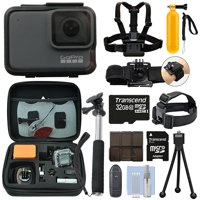 GoPro HERO7 Silver 10 MP Waterproof 4K Hero 7 Camera Camcorder + 32GB Action Bundle