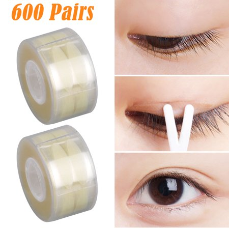 Natural Invisible Double Side Eyelid Tapes Stickers, Medical-use Fiber Eyelid Strips, Instant lift Eye Lid Without Surgery, Perfect for Hooded, Droopy, Uneven, Mono-eyelids (Net Eyelid Tape)